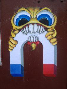 Collab street art Idys Cap Phi