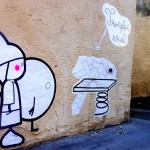zoulette street art tremplin social