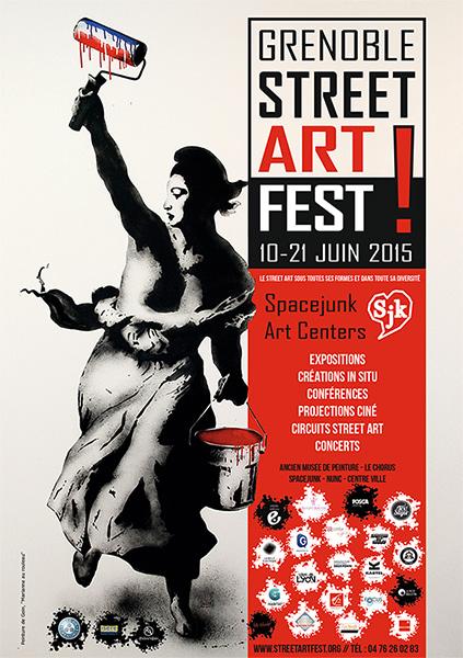 affiche Grenoble SA Fest