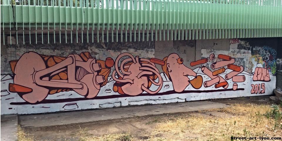 esmo graffiti Lyon