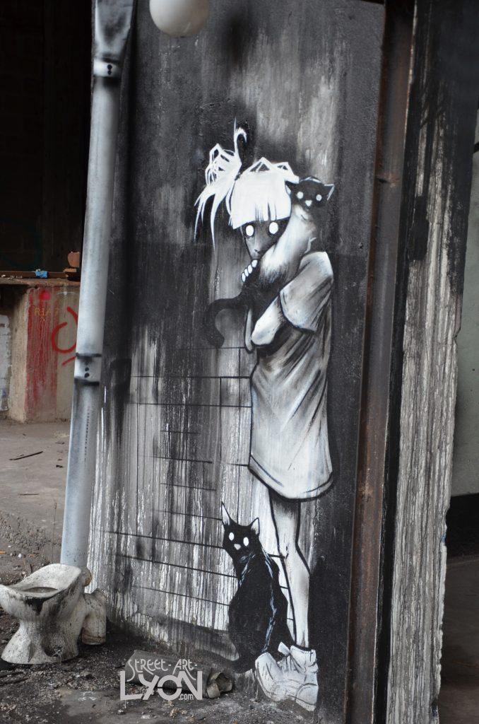 la petite fille aux chats - Marmai